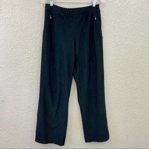 Lucy Everyday Collection Black Yoga Pants, Sz M